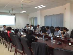 KoM in Hanoi joining-research staff from Vietnamese partners and Cirad Breedcafs eu project