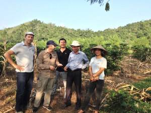 Visit of the NOMAFSI station, in Son La, on 28-29 of October 2017 for Breedcafs eu funded project