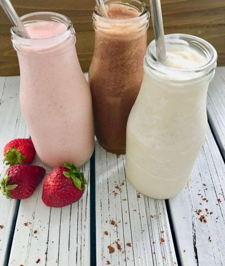 Vegan Coconut Milkshakes (3 Flavours)