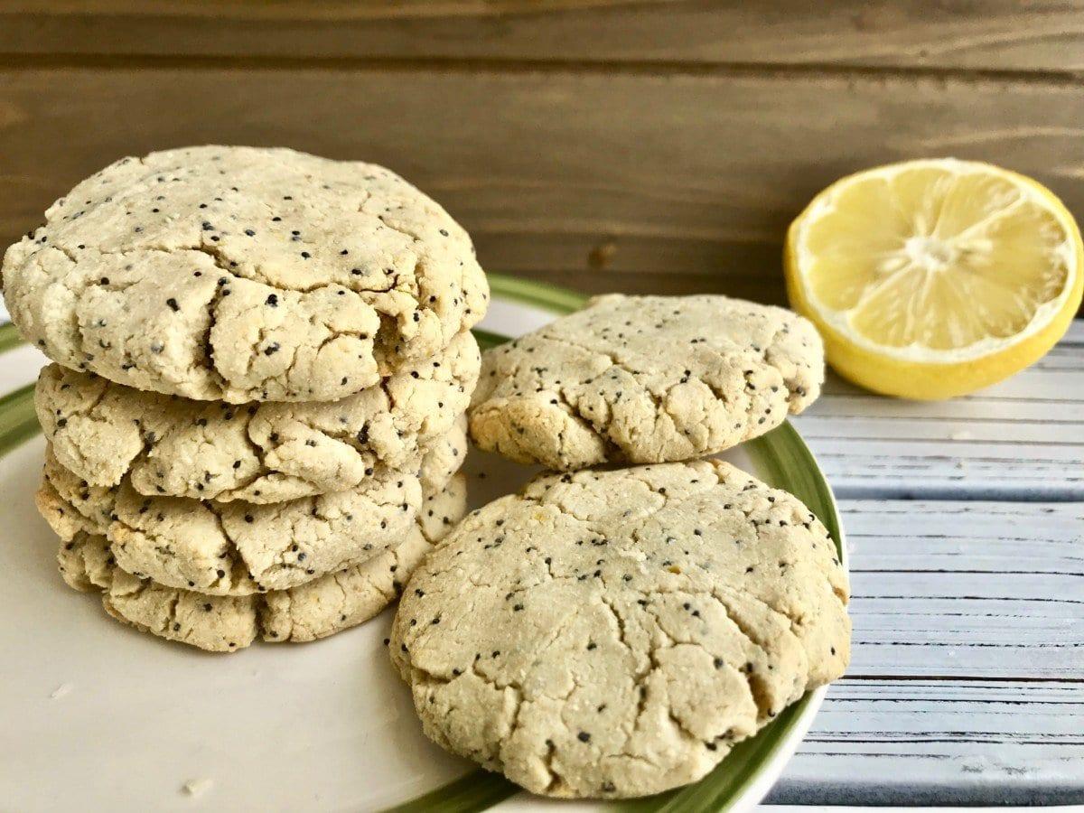 Lemon Poppy Seed Cookies (Vegan and GF)