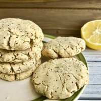 Lemon Poppy Seed Cookies (Vegan and GF)