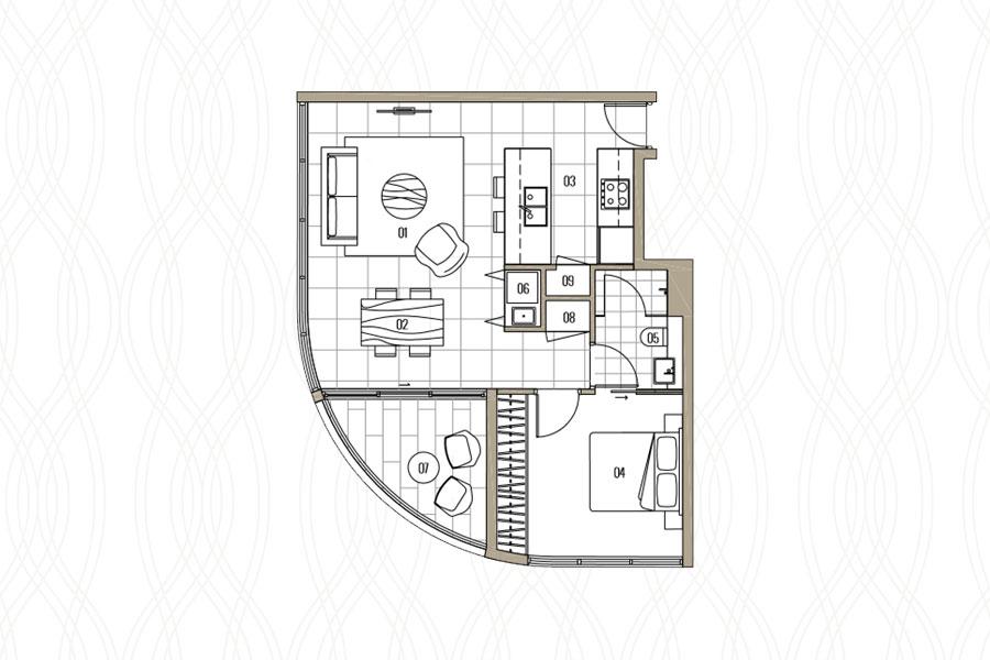 1 Bedroom Ground Floor Apartment Breeze Mooloolaba