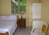 Bedroom accommodates up to 2 persons