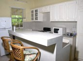 Open plan kitchen - fully fitted out
