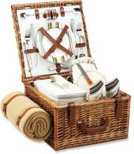 Cheshire Picnic Basket With Blanket