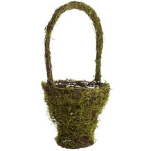 Tall Moss Basket