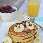 Quinoa and Almond Flour Banana Pancakes