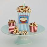 Maple Bacon Popcorn with Happy Birthday Printables