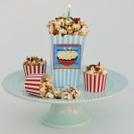 Maple Bacon Popcorn with Happy Birthday Printables