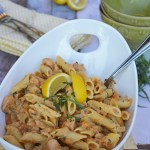 Tarragon Chicken and Butternut Squash Pasta