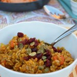 Savory Pumpkin Spiced Risotto