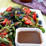 Spiced Maple Vinaigrette