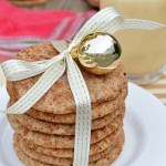 Cinnamon and Nutmeg Eggnog Snickerdoodles