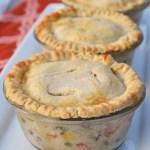 Creamy Chicken Pot Pies