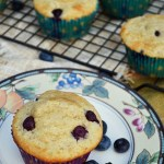 Gluten Free Blueberry Almond Morning Muffins