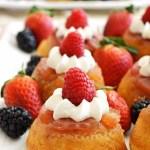 Gluten Free Mini Pineapple Upside-down Raspberry Cakes