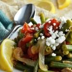 Sautéed Lemon Basil Green Beans