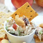 Gluten Free Apple Cherry Chicken Salad
