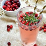 Fresh Squeezed Cranberry Almond Lemonade