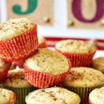 Gluten Free Mini Eggnog Muffins