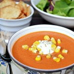 Roasted Grape Tomato Cream Soup