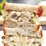 Gluten Free Apricot and Apple Tuna Salad Sandwich