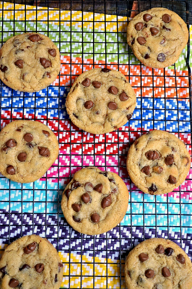 It doesn't get much closer to homemade taste with these Gluten Free Homemade Chocolate Chip Cookies. They're soft and chewy in the center with a slightly crisp and golden outer shell.