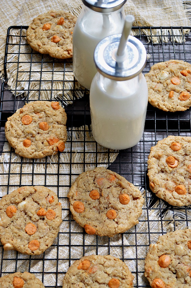 Have a love affair with these satisfyingly sweet Gluten Free Butterscotch Oatmeal Cookies. They're pretty much the best cookie around town.