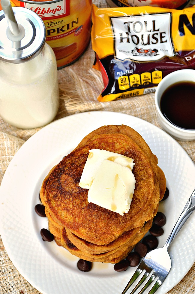 Don't let Fall pass you by without whipping up a few batches of these Gluten Free Perfect Pumpkin Pancakes. Throw in some dark chocolate chips for an extra decadent treat.