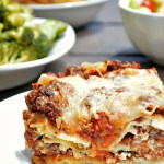Go ahead and drool over this traditional Gluten Free Classic Meat Lasagna made with from scratch pasta sauce. The flavors will have you dancing!