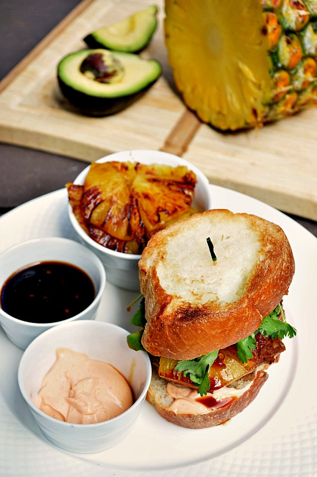Who says it's all about the beef?! Elevate your ground turkey to celebrity status with these Gluten Free Pineapple Teriyaki Turkey Burgers.