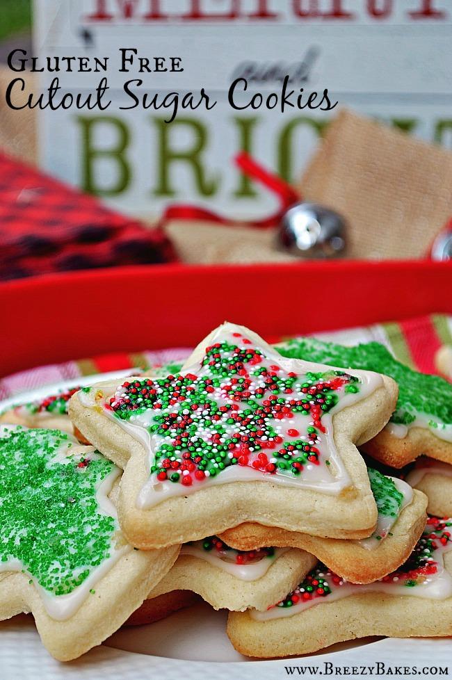 Gluten free sugar cookie cutout recipe
