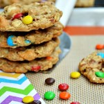 Gluten Free Browned Butter Monster Cookies