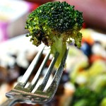 Italian and Garlic Seasoned Oven Roasted Broccoli