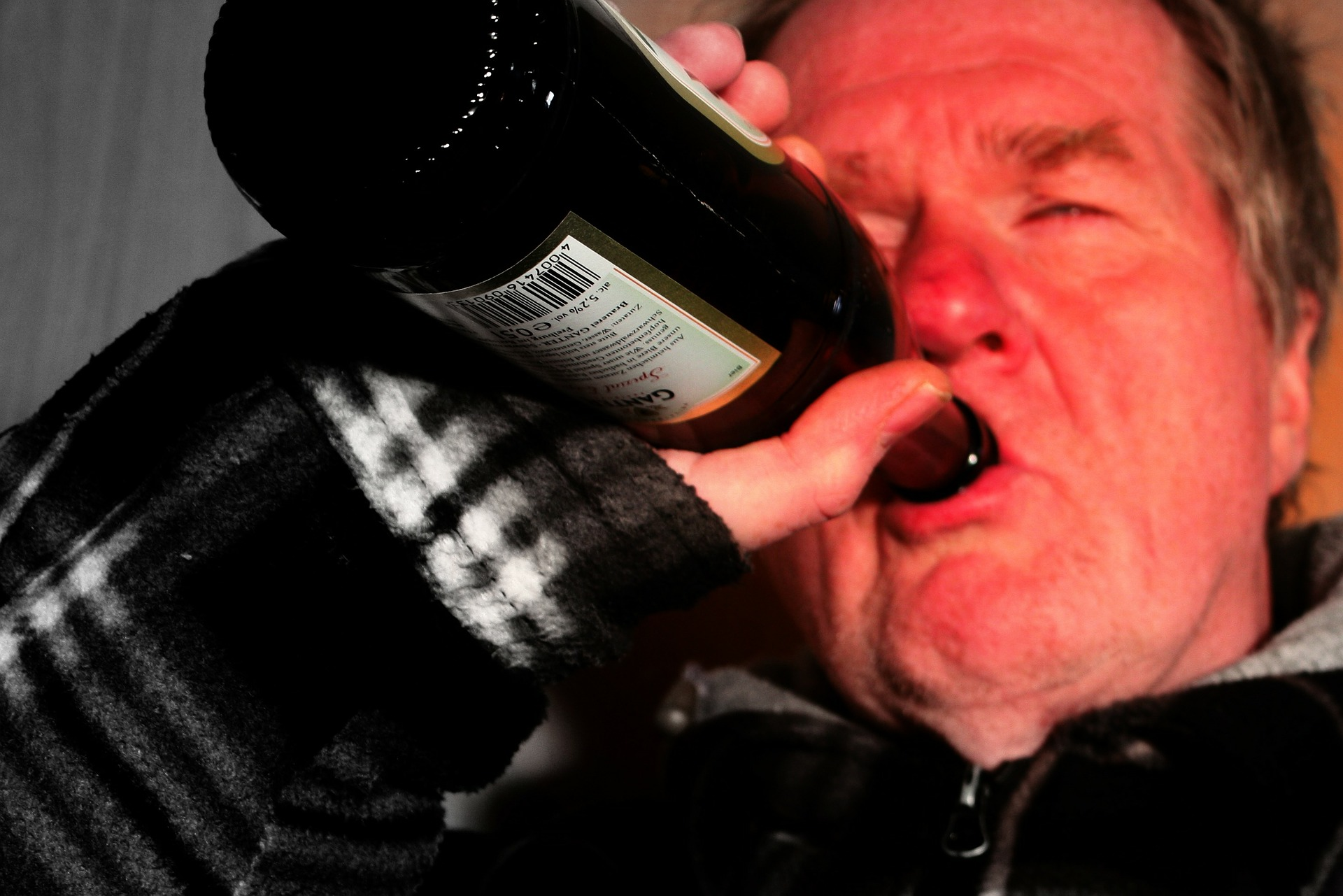 Alcoholic husband - wrecks your life - hits the bottle again and again