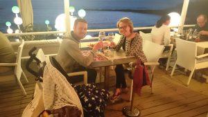 Lekker romantisch dineren aan zee!