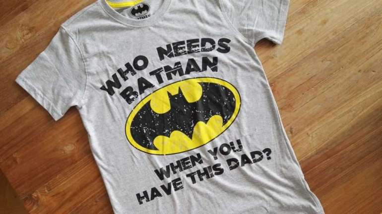 t shirt Batman, bregblogt.nl