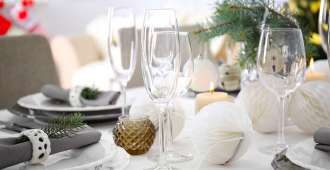 kersttafel shutterstock