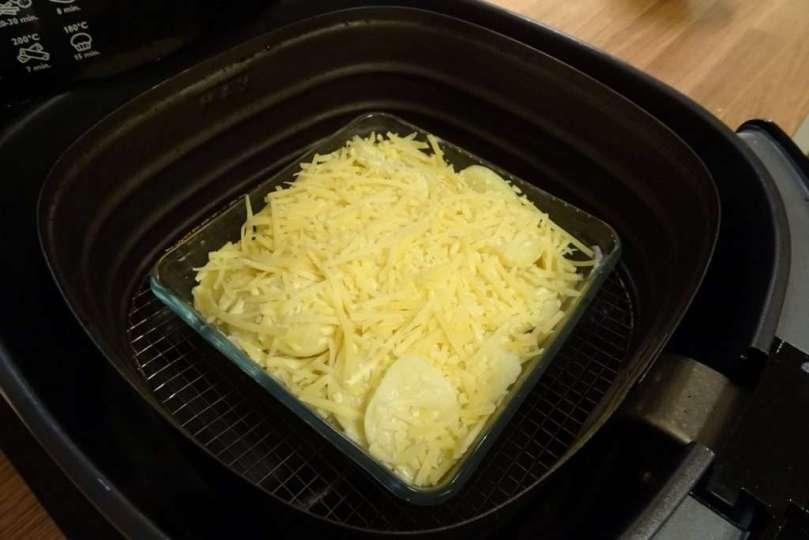 Airfryer aardappelgratin - bregblogt.nl