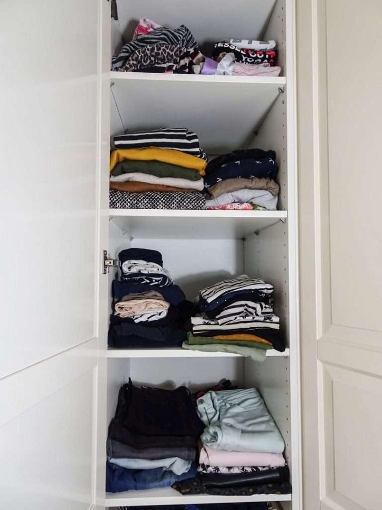 Eindresultaat kledingkast-check Yolande Ave - bregblogt.nl
