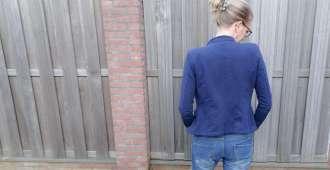 outfit jeans blauw jasje prints bregblogt.nl