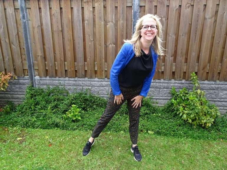 bregblogt.nl outfit luipaardbroek colbert zwarte top