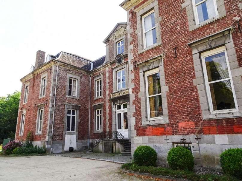 Kasteel Leut hoofdgebouw Rivierpark Maasvallei bregblogt.nl