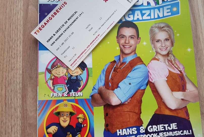 Hans en Grietje de Musical Van Hoorne Entertainment magazine bregblogt.nl