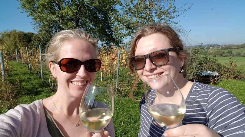 lunch Sint Martinus wijnproeverij ensanne.nl bregblogt.nl