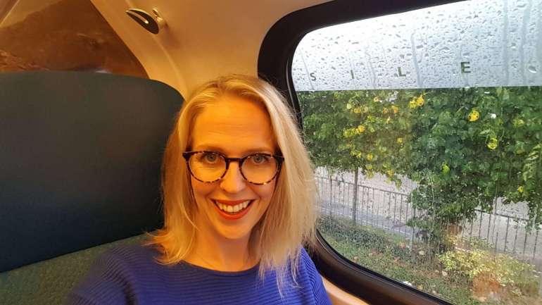 selfie trein bregblogt.nl
