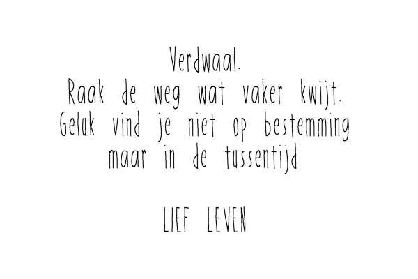 verdwaal lief leven bregblogt.nl