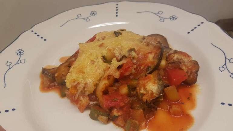 auberginelasagne met tomaat en paprika bregblogt.nl