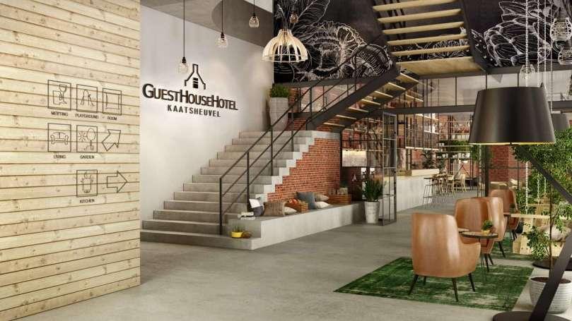Guesthouse hotel Kaatsheuvel lobby bregblogt.nl