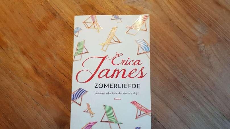 Zomerliefde Erica James bregblogt.nl